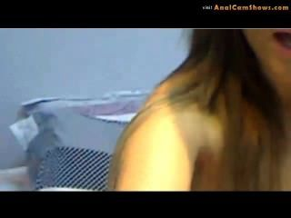 Striptease por sexy amateur on cam