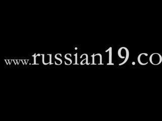 Dois, russo, schoolgirls, nu, Ao ar livre