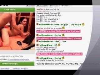 Sexo anal com um casal no videochat