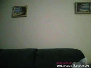 Teen masturbando na câmera
