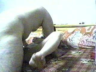 Asiático chubby boy web cam