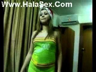 Adolescente de dança iraquiana