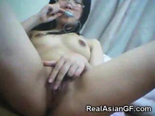 Gfs asiático adolescente real!