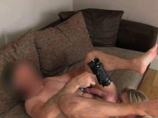 Big ass e tits blonde fodido no escritório