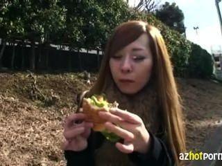 Transsexual asiático foda