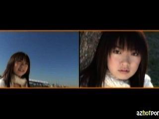 Ídolo softcore teen coração asiático ícone