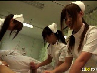 Enfermeiras asian lasciva vai cuidar de você