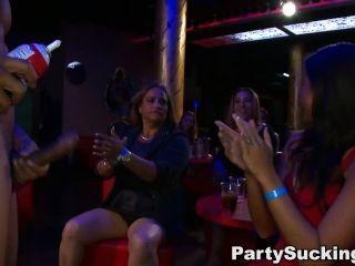 Party girl suck stripper cock