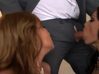 Sophie \u0026 abbie se divertindo com seus homens