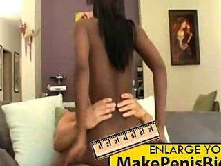 Ebony teen com big ass quer pau branco