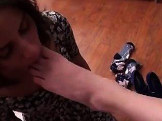 Adoração lésbica dos pés