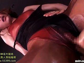 Meninas japonesas masturbated com a menina de massagem doce em living room.avi
