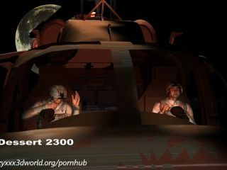 Animação 3d: invasão alienígena.Episódio 1