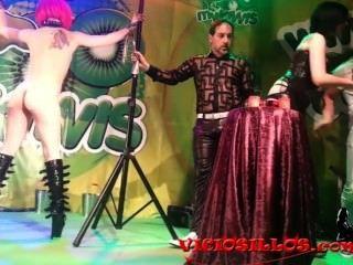 Mago pepe show apresentando mistress minerva y nora barcela por viciosillos.com