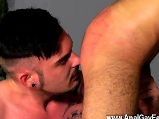 Hardcore gay adam watson goza nada mais do que ter um super vapor