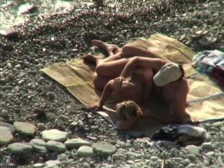 Sexo de praia amador # 17