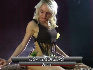 Jenna de \ Kink fumar fumar fetiche 420 maconha erva daninha Rrr loira fetiche Rrr 