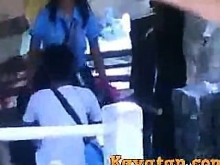 Pinay estudantes sexo na rua