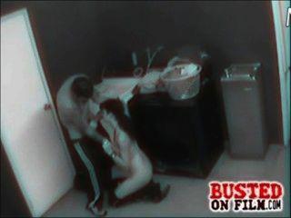 Câmera de segurança filmes casal fucking