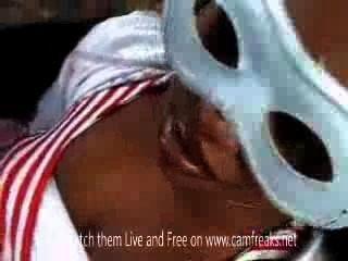 Italiano, sujeito, africano, menina, ao ar livre, sexo
