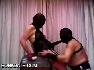 Femdom e seu escravo