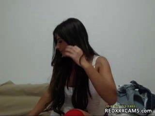 Camgirl webcam sessão 160