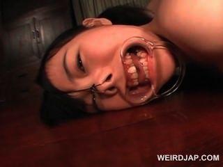 Hardcore ass dildo fucking para morena teen asian sexo escravo