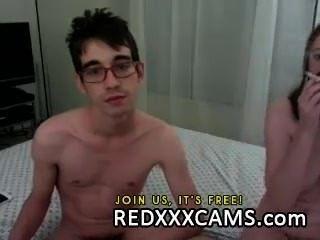 Adolescente digitação show câmera pussy vazou de redxxxcams.com