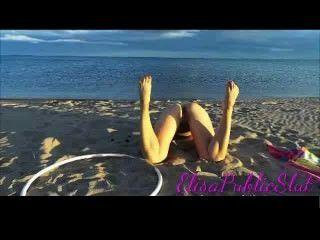 Sexo nudista e anal em uma praia sem nudismo elisapublicslut.com