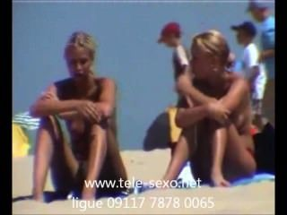 Meninas loiras bonitas na praia cam escondido www.tele sexo.net 09117 7878 0065