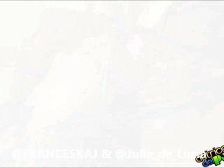Actricesdelporno.com @franceskaj e anal divas con @julia_de_lucia