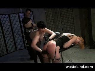 A atribuição de treinamento de bdsm femdom, maledom \u0026 feminino submissive hardcore