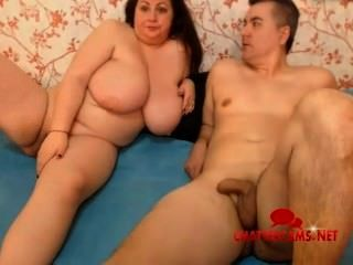 Homem e sua esposa gorda sexo cam