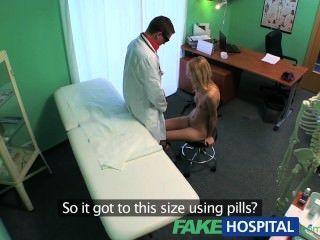 Fakehospital esguio squirting hot sexy loira quer implante implante conselhos