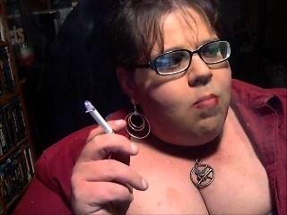 Exposto faggot fumaça dianel