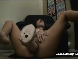 Busty milf dildo masturbation live chatmypussy.com