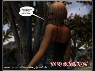 3d quadrinhos: a princesa errante.Episódios 1 2