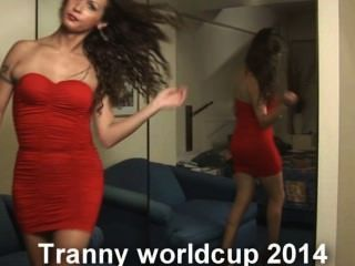 A copa do mundo tranny 2014 está aqui com ladyboys nikki