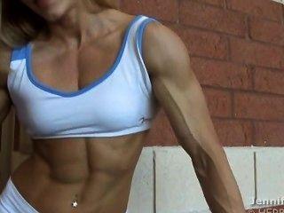 Garota do músculo