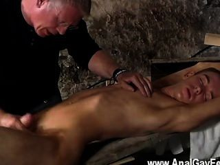 Incrível cena gay há muito que sebastian kane adora fazer a sua