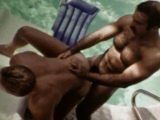 Carneiro, vindima, macho, ícone, bruno, fode, josh, kincaid, ao ar livre, piscina