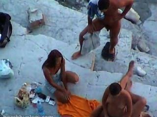 Amador de sexo na praia # 32
