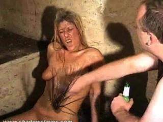Meninas lixo raiva imunda e bizarro bdsm de slaveslut sujo