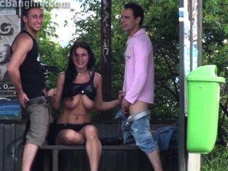 Sexo quente em público!Mostre-o do bebê !!! 2