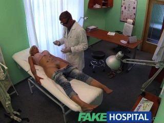Fakehospital doutor sonda pacientes pussy com seu galo