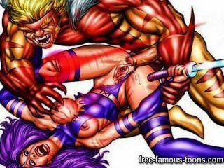 Famosas estrelas hentai sexo anal