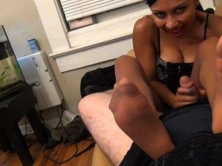 Jasmine o terapeuta do pé