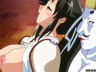 Menina hentai pego fica brutalmente fodido