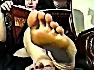 Deusa bonita do pé