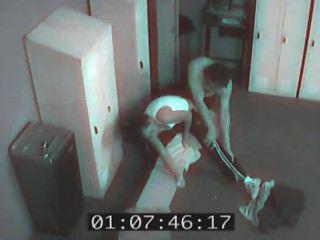 Câmera de segurança sexcapades